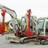 Mini-Excavator Post Driver